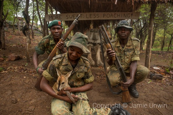 Anti poaching unit in Malawi
